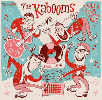 "Kaboons ,The - Right Track ,Wrong Way ( Ltd 10"" )"